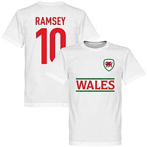 Wales Ramsey Team Tee - White