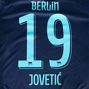 Jovetić 19 (Official Printing) - 21-22 Hertha BSC Berlin Away