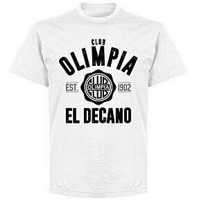 Olimpia Established T-Shirt - White