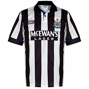 Asics Newcastle 1993-1995 Home Shirt - USED Condition (Great) - Size Large *READY TO PUBLISH*