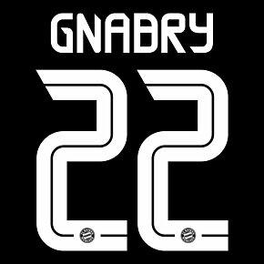 Gnabry 22 (Official Printing) - 20-21 Bayern Munich 3rd C/L