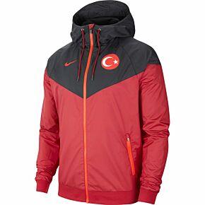 20-21 Turkey NSW Authentic Windrunner Jacket - Red/Black
