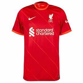 21-22 Liverpool Home Shirt