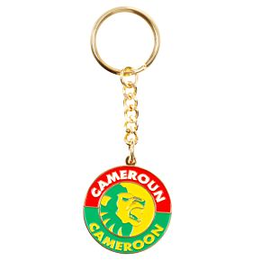 Cameroon Enamel Keyring