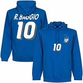 R. Baggio 1994 Italy Home Hoodie - Royal Blue