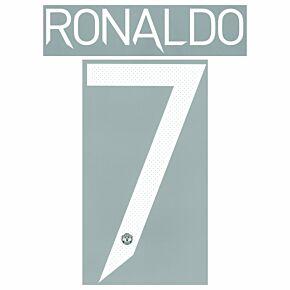 Ronaldo 7 (Cup Printing) - 21-22 Man Utd Home