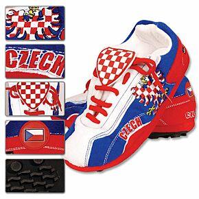 Czech Republic Football Boot Slippers