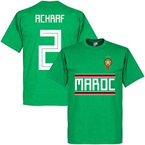 Morocco Achraf 2 Team Tee - Green