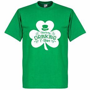 St Patricks Day Drinking Tee - Green