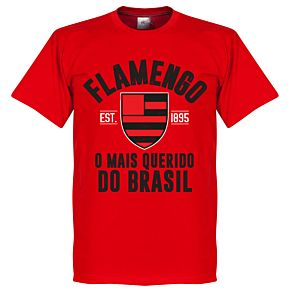 Flamengo Established Tee - Red