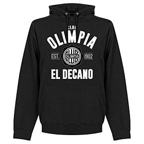 Olimpia Established Hoodie - Black