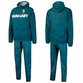 20-21 Hungary Olympic Rain Track Suit - Green