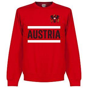 Austria Team Sweatshirt - Red