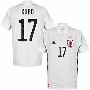 20-21 Japan Away Shirt + Kubo 17 (Official Printing)