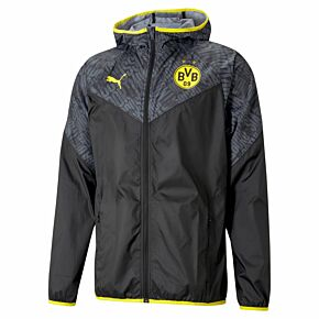 2021 Borussia Dortmund Warm-up Jacket - Black