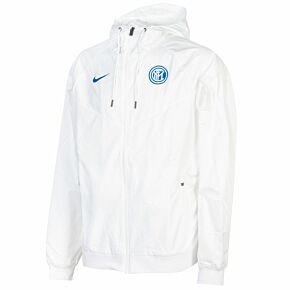 20-21 Inter Milan Authentic Windrunner Jacket - White