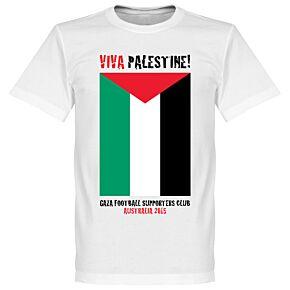 Viva Palestine Tee - White