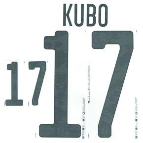 Kubo 17 (Official Printing) - 20-21 Japan Away