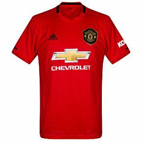 adidas Man Utd Home Jersey 2019-2020