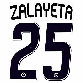 Zalayeta 25 - 07-08 Napoli Away Official Name and Number