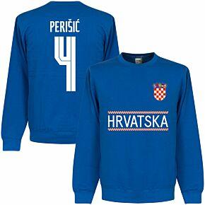 Croatia Perisic 4 Team Sweatshirt - Royal