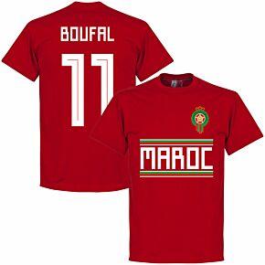Morocco Boufal 11 Team Tee - Red