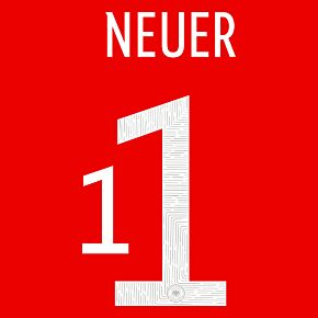 Neuer 1 (Official Printing) - 20-21 Germany Home GK