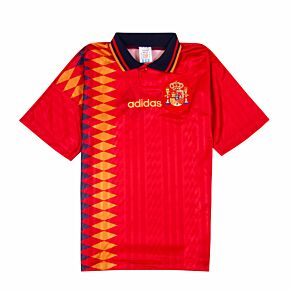 adidas Spain 1994-1996 Home Shirt - NEW (w/tags) Condition (Excellent) - Size XS
