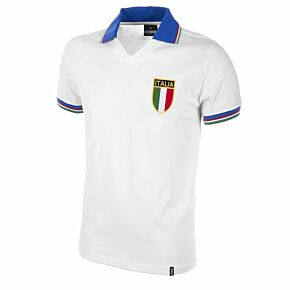 1982 Italy Away Retro Shirt - White