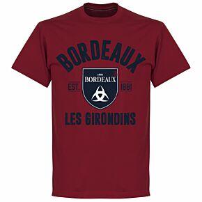 Bordeaux Established Tee - Chilli Red