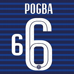 Pogba 6 (Official Printing) - 20-21 France Home