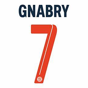 Gnabry 7 (Official Printing) 21-22 Bayern Munich 3rd