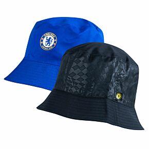 21-22 Chelsea Reversible Bucket Hat - Black/Blue