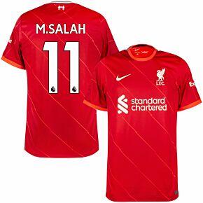 21-22 Liverpool Home Shirt + M.Salah 11