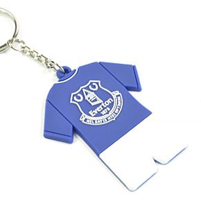 Everton Full Kit PVC Keyring