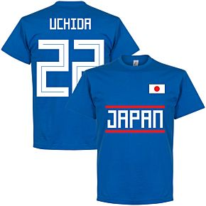 Japan Uchida 22 Team Tee - Royal
