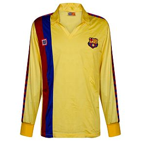 Meyba Barcelona 1982-1984 Away Jersey L/S NEW Condition (w/tags) - Size Small Boys