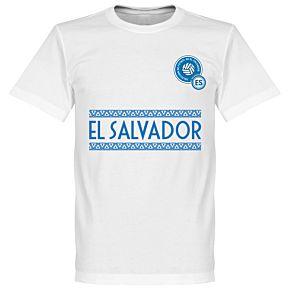 El Salvador Team Tee - White
