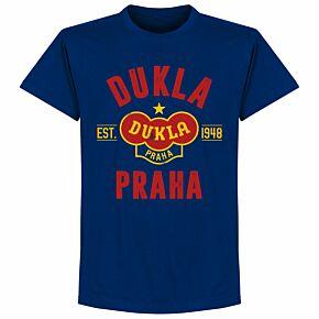 Dukla Praha Established T-shirt - Ultramarine