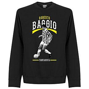 Baggio Fantasista Sweatshirt  - Black