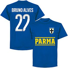 Parma Bruno Alves 22 Team T-shirt - Royal