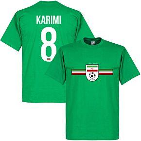 Iran Team Karimi Tee - Green