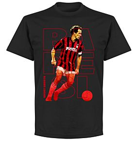 Baresi Short Shorts T-shirt - Black