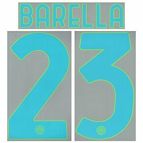 Barella 23 (Official Printing) - 21-22 Inter Milan 3rd