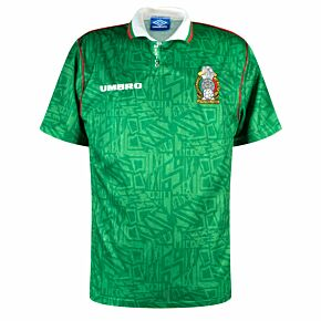 Umbro Mexico 1994-1996 Home Shirt - USED Condition (Great) - Size L *IMAGE NEEDED*
