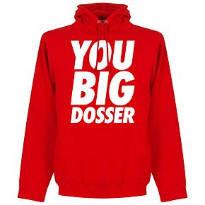 You Big Dosser Hoodie - Red