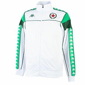 21-22 Red Star FC Merez Track Jacket - White (Slim Fit)