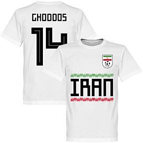 Iran Ghoddos 15 Team Tee - White