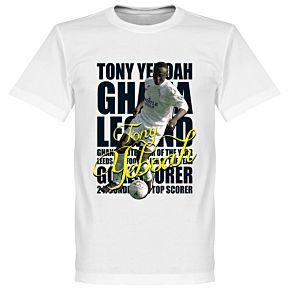 Tony Yeboah Legend Tee - White