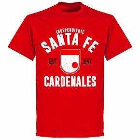 Independiente Santa Fe Established T-Shirt - Red
